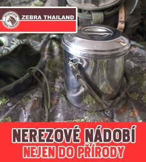 Zebra nádobí